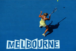 Maria Sharapova - Australian Open 1st round 01/13/13 HQ and MQ pics