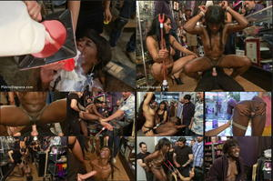May 16, 2014 – Isis Love  , Tommy Pistol  , and Ana Foxxx