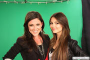 Victoria Justice On The Set of Clevver TV (2010)