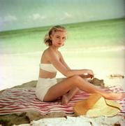 Grace Kelly - in a bikini in Jamaica, 1955
