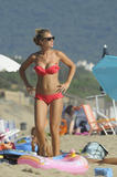Ilary Blasi | Bikini Candids on the Beach in Sabaudia | July 8 | 79 hot pics